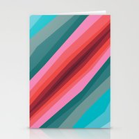 cracked Stationery Cards featuring Cracked  by K I R A   S E I L E R