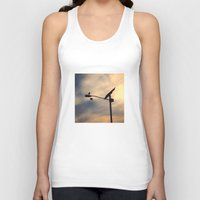shoe Tank Tops featuring Shoe Bird by Ken Seligson