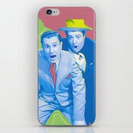Abbott and Costello Pop! iPhone Skin