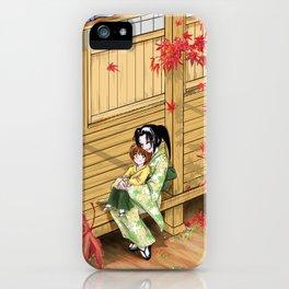 Kenshin's family iPhone Case