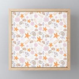 Seashell Print Framed Mini Art Print