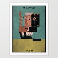 013_ARCREATURES-01 Art Print