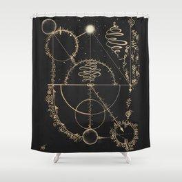 Vibration of Balance Shower Curtain