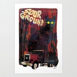 Sour Ground - Pet Sematary Tribute Art Print
