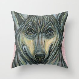 May I Help You? Throw Pillow