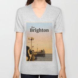 Visit Brighton  Unisex V-Neck