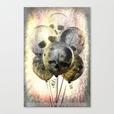 Skulloons B10 Canvas Print