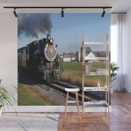Full Steam Ahead Wall Mural