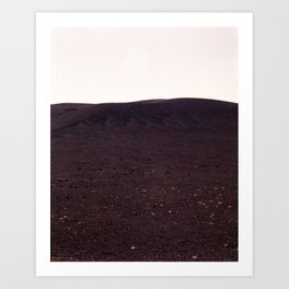 Craters of the Moon Art Print