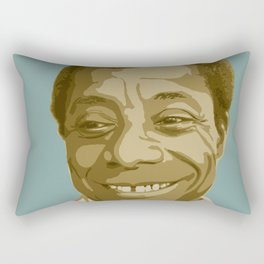 James Baldwin Rectangular Pillow