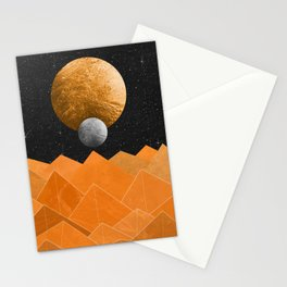 The Orange Planet Stationery Cards