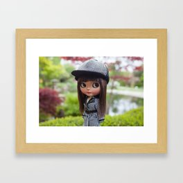 Aya at Kyoto Gardens Framed Art Print