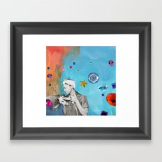 riveting Framed Art Print