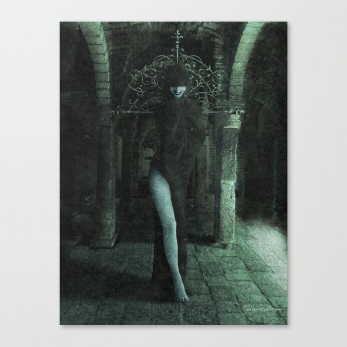 The Crypt Dancer Canvas Print