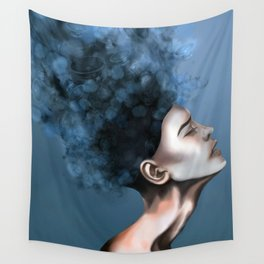 "OCD: ""Intrusive Thoughts"" Wall Tapestry"