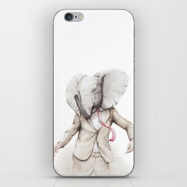 Elephant Dance iPhone Skin