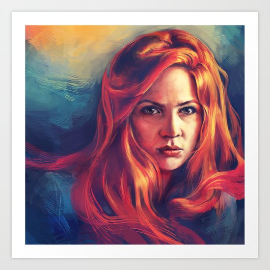 Amy Pond Art Print