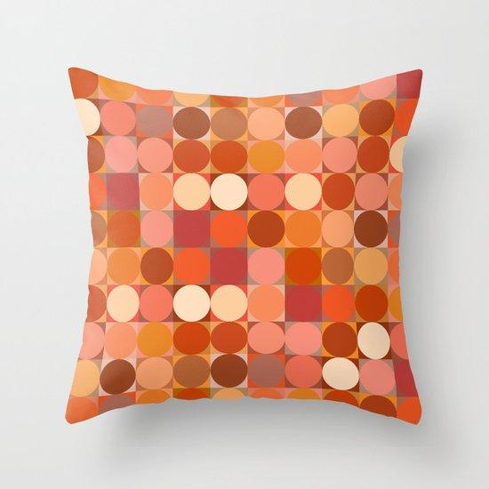 Arancione Throw Pillow