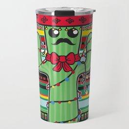 Christmas Nopal Travel Mug