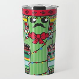 Christmas Nopal Travel Mug