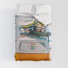 Van summer Comforters