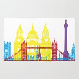 London skyline pop Rug
