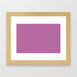 PANTONE 17-3240 Bodacious Framed Art Print