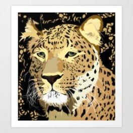 Grandfather Leo Art Print