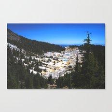 Bumpass Hell Pass Lassen Volcanic National Park Canvas Print