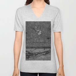 Crushed Unisex V-Neck