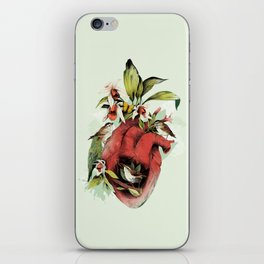 Heart Of Birds iPhone Skin