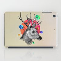 animals iPad Cases featuring animals by mark ashkenazi