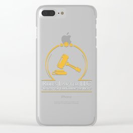 D&D - Rules Lawyer Clear iPhone Case