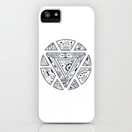 The crest iPhone Case