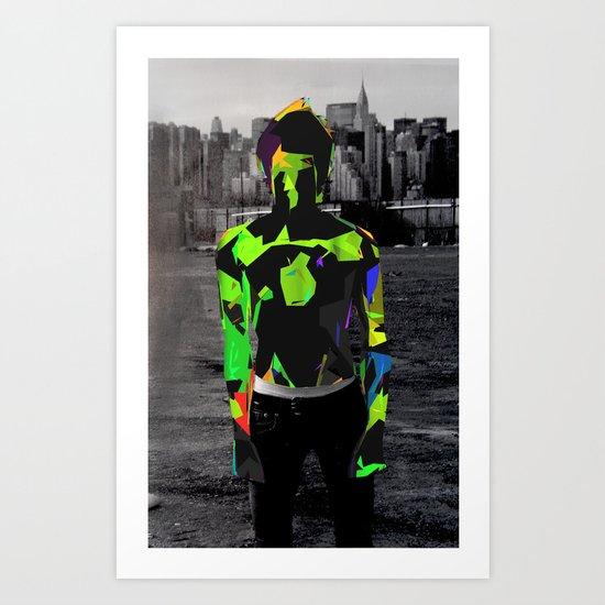 Boy Urban Art Print