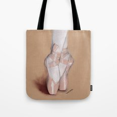 Ballet Pointe Shoes. Tote Bag