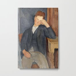 Amedeo Modigliani - The Young Apprentice Metal Print