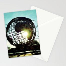 Sunset Globe  Stationery Cards