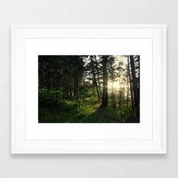 narnia Framed Art Prints featuring Entering Narnia by Ananya Ghemawat