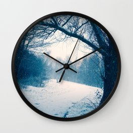 Twilight Forest Wall Clock