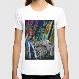 FUNKYTOWN (featuring Sancha McBurnie as a model, along with her photography work) T-shirt