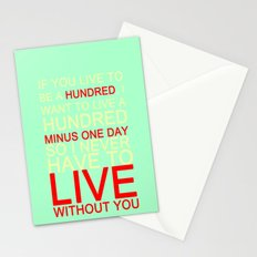 quotes Stationery Cards