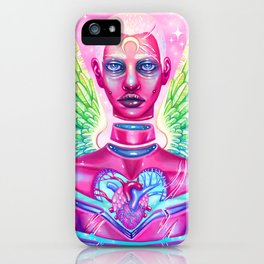 King, Angel of the Fragmented iPhone Case