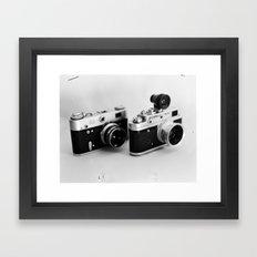 Classic Cameras Framed Art Print