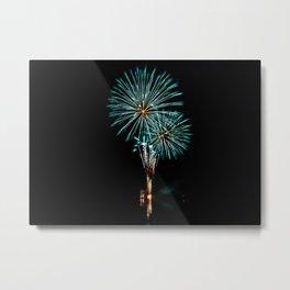 Firework Creations - Tulipfest 1 Metal Print