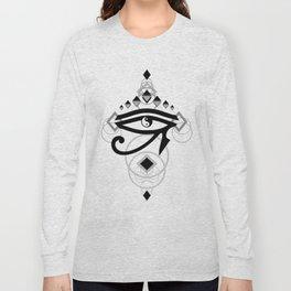 Eye Of Horus (Yin Yang Crest) - 2 Long Sleeve T-shirt