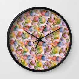 BubblePops Wall Clock