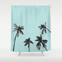 Palm trees 5 Duschvorhang