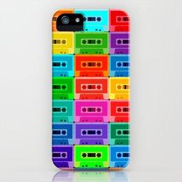 Neon Cassettes iPhone Case