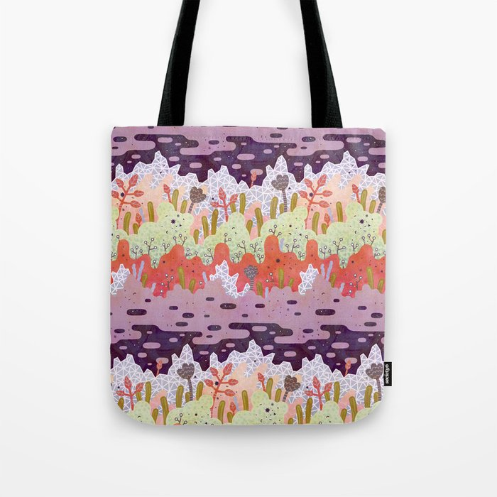 Crystal Forest Tote Bag